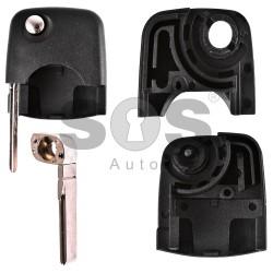 Кутийка за ключ (сгъваем) за Audi - HU66 - горна част