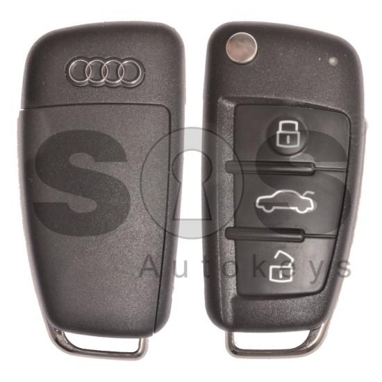 Оригинален комплект Audi A3/S3/RS3 3 Бутона Честота 434 MHz