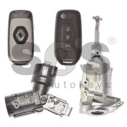 Оригинален комплект Renault Kadjar/Captur 3 Бутона Честота 434MHz