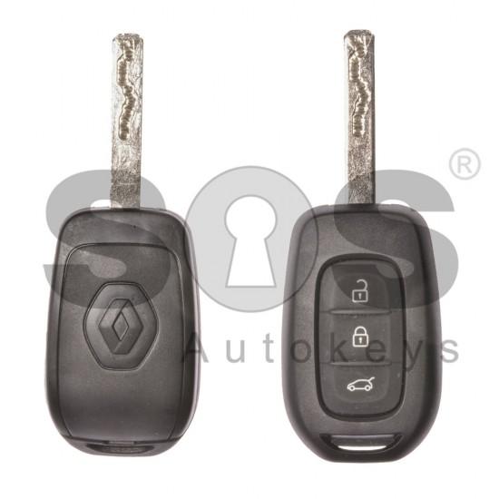 Оригинален комплект Renault Kadjar/Capture 3 Бутона Честота 434MHz
