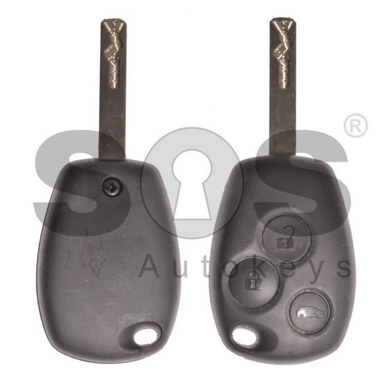 Kомплект Smart/Renault 3 Бутона Честота 434MHz