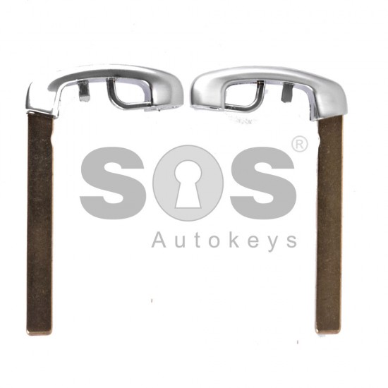 Накрайник (перо) за смарт ключ за BMW - HU101R - Хром