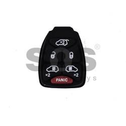 Гумени бутони за Chrysler/Dodge/Jeep - 6 бутона