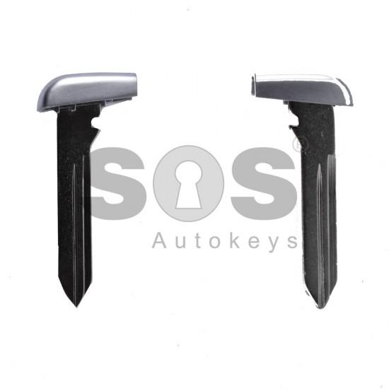 Накрайник (перо) за смарт ключ за Chrysler/Dodge/Jeep/Fiat - CY 24 - Хром