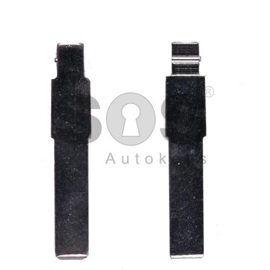 Накрайник (перо) за сгъваем ключ за Fiat - SIP 22 - дълъг