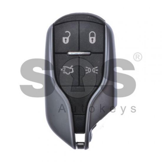 Смарт ключ за Maserati с 4 бутона 433 MHz HITAG 2