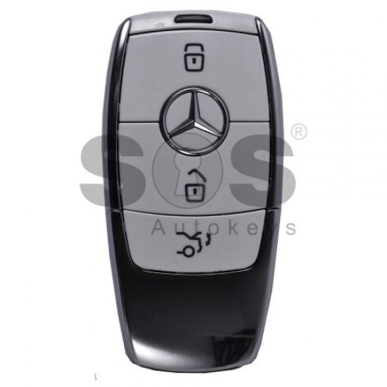 2x Смарт ключ за Mercedes-benz W213 с 3 бутона 433.92 MHz  (комплект)
