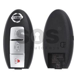 Оригинален смарт ключ за Nissan с 2+1 бутона 434 MHz
