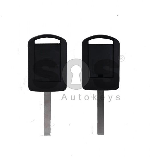 Кутийка за ключ (стандартен) за Opel Corsa с 2 бутона - HU100 - с накрайник