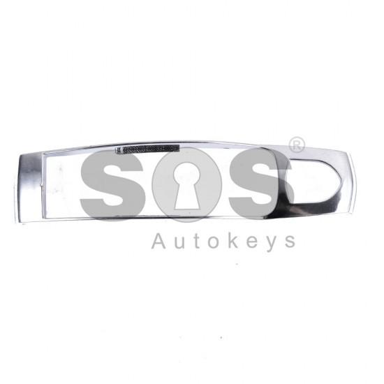 Кутийка за ключ (смарт) за Porsche Cayenne с 3+1 бутона - HU66 - черна