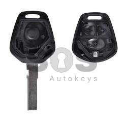 Кутийка за ключ (стандартен) за Porsche с 2 бутона - HU66 - с накрайник
