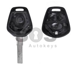 Кутийка за ключ (стандартен) за Porsche с 3 бутона - HU66