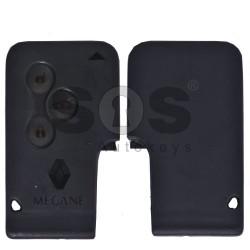Оригинална карта ключ за Renault Megane / Scenic / Clio с 3 бутона 434MHz