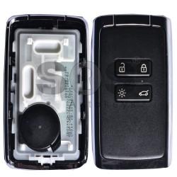Оригинална смарт карта за Renault Megane 4/Talisman с 4 бутона 433 MHz