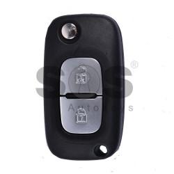 Оригинален флип ключ за Renault Samsung с 2 бутона 433MHz
