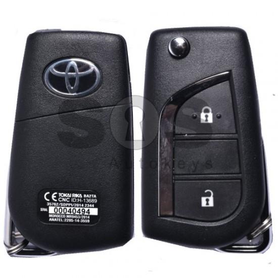 Оригинален сет за Toyota Hilux с 2 бутона 433MHz