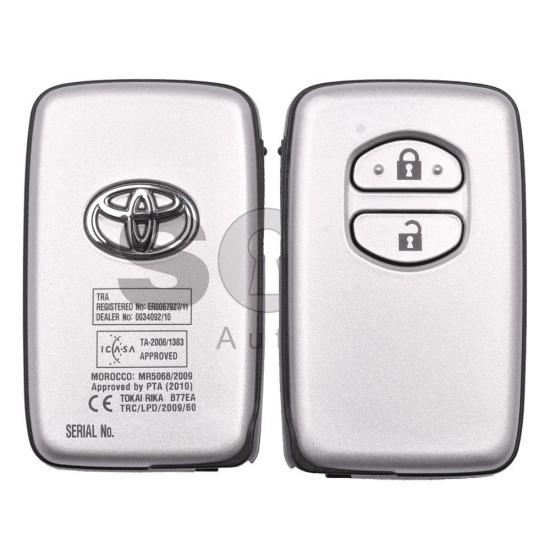 Оригинален смарт ключ за Toyota Prius/Land Cruser 150 2009-2014 с 3 бутона 434 MHz