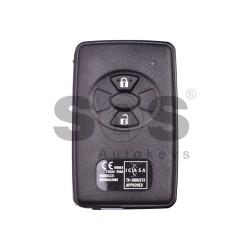 Оригинален смарт ключ за Toyota Rav 4 с 2 бутона 434 MHz M01