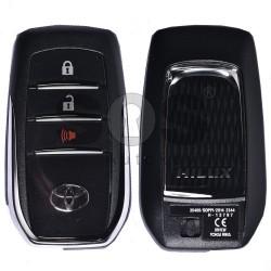 Оригинален смарт ключ за Toyota с 2+1 бутона 433 MHz