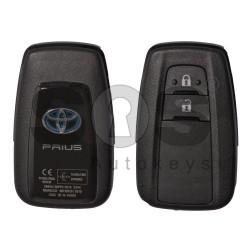 Оригинален смарт ключ за Toyota Prius с 2 бутона 434MHz Toyota-H Keyless Go