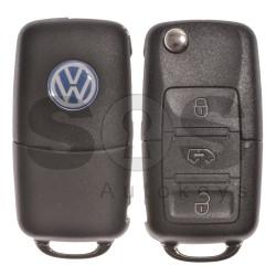 Оригинален сгъваем ключ за VW Crafter с 3 бутона 434 MHz