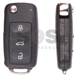 Оригинален сгъваем ключ за VW Passat/Bora/Lavida/Sagitar с 3 бутона 434 MHz