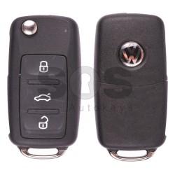 Сгъваем ключ за VW Passat/Bora/Lavida/Sagitar с 3 бутона 434 MHz