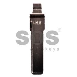 Сгъваем авариен ключ за VW/Audi/Seat/Skoda - HU 66 - Дълъг