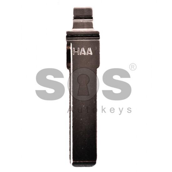 Накрайник (перо) за сгъваем ключ за VW/Audi/Seat/Skoda - HU 66 - Къс