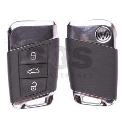 Смарт ключ за VW Passat B8  с 3 бутона 434 MHz Keyless Go