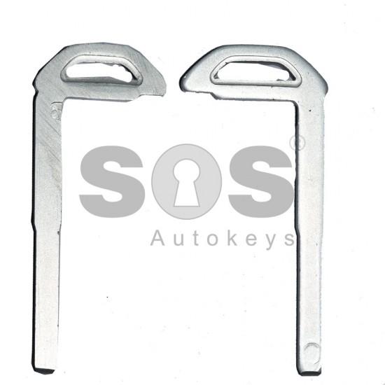 Накрайник (перо) за смарт ключ за Volvo - стара рибка - HU101 (Model 1)