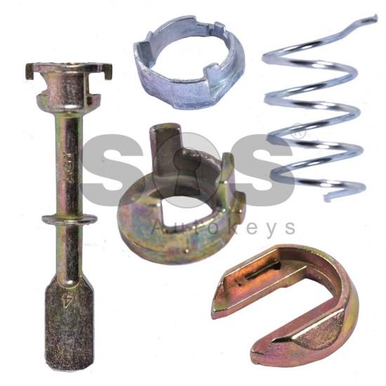 Комплект за ключалка за врата за Volkswagen/Seat/Skoda (Complect) 04