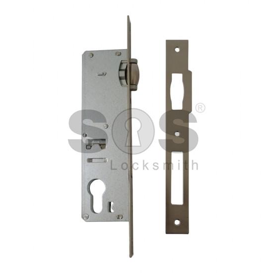 Брава за врата за алуминиева или PVC дограма Kale Kilit с буре - 35 mm