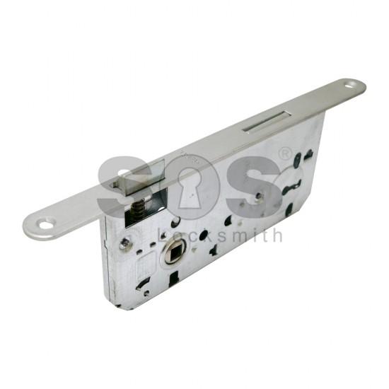 Брави за интериорни врати с обикновен ключ METAL - 50/90