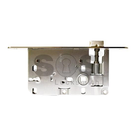 Брави за интериорни врати с обикновен ключ AGB Piccola - 50/70
