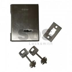 Подова касова брава за стъклени витрини GEVY
