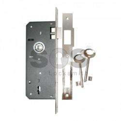 Брави за интериорни врати с обикновен ключ DAF КILIT 90/40
