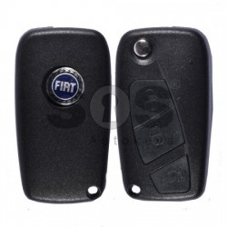 Кутийка за сгъваем ключ за Fiat с 3 бутона SIP22