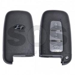Кутийка за ключ (смарт) за Hyundai с 3 бутона - HY22 - С накрайник