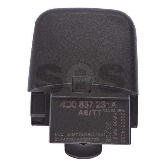 Сгъваем ключ за коли Audi A3/A4/A6/A8/TT с 3 бутона - 433 MHz - само дистанционно