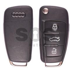 Сгъваем ключ за коли Audi A3/S3/RS3 с 3 бутона - 434 MHz