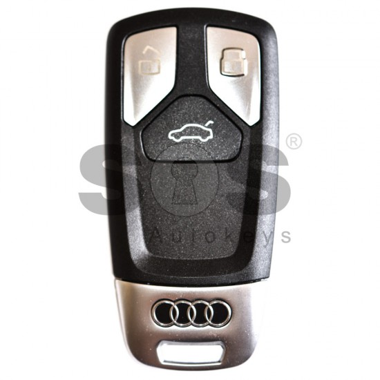 Смарт ключ за коли Audi Q7 с 3 бутона - 433 MHz