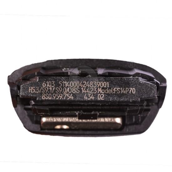 Смарт ключ за коли Audi TT с 3 бутона - 434 MHz Keyless Go