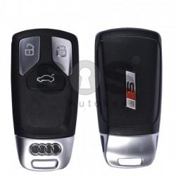 Смарт ключ за коли Audi S с 3 бутона -  433 MHz