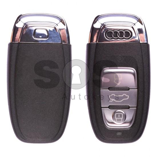 Оригинален смарт ключ за коли Audi BCM с 3 бутона - 868 MHz