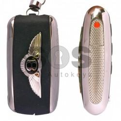 Сгъваем ключ за коли Bentley с 3 бутона - 315 MHz Keyless Go