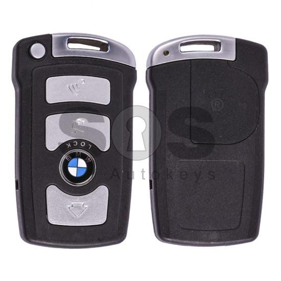 Смарт ключ за коли BMW E65 с 4 бутона - 868 MHz