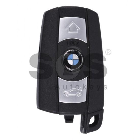 Оригинален смарт ключ за коли BMW E-серии с 3 бутона - 868 MHz