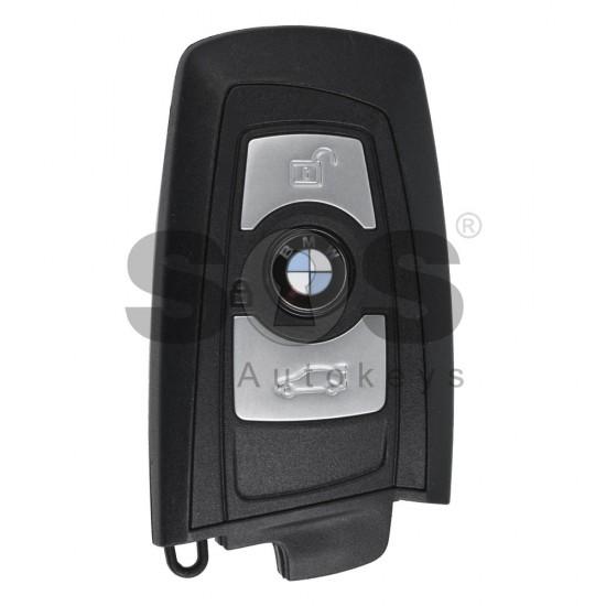 Оригинален смарт ключ за коли BMW F-серия с 3 бутона - 434 MHz Keyless Go