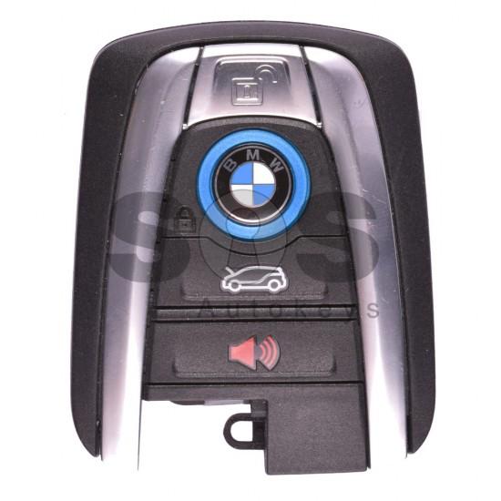 Оригинална смарт карта за BMW I3/I8 с 4 бутона - 434 MHz Keyless Go